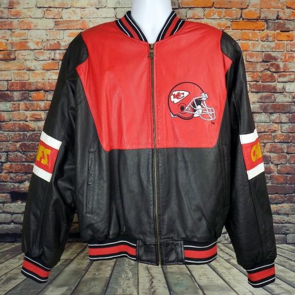 Carl Banks GIII Other - Kansas City Chiefs Leather Jacket G-III Men s XL e9c43cf9d
